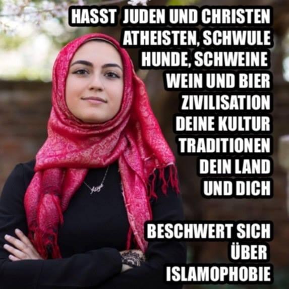 Datei:Beschwert sich ueber Islamophobie.jpg