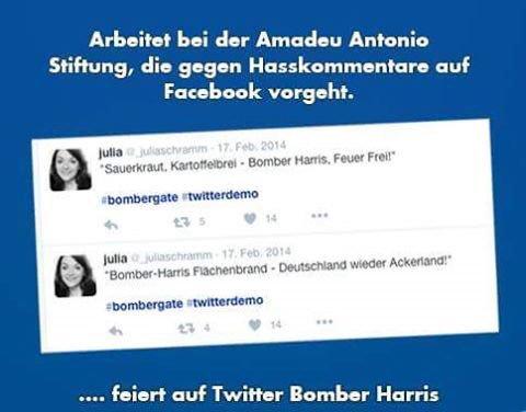 Datei:Julia Schramm feiert auf Twitter Bomber Harris.jpg