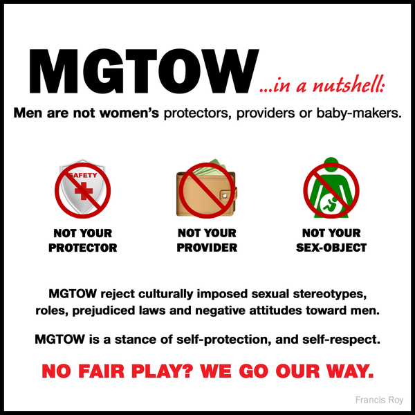 MGTOW – Men Going Their Own Way