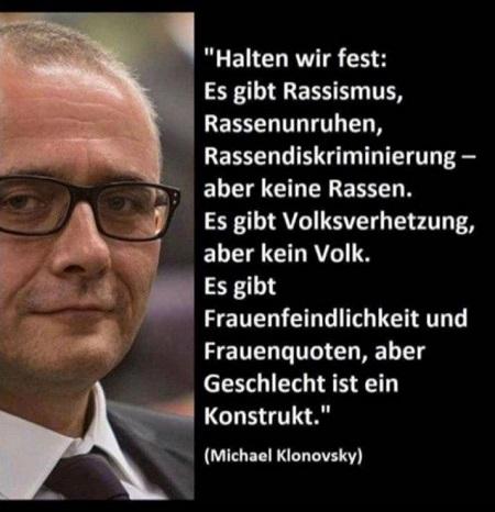 Michael Klonovsky - Rassismus ohne Rasse, Volksverhetzung ohne Volk, Frauenfeindlichkeit ohne Geschlecht.jpg