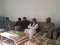 Atizaz Hassan Bangash Shaheed's Father with NG tv Group and Colonel Afrasiab.jpg