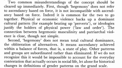 Connell 1987 Hegemonic Masculinity 184.png