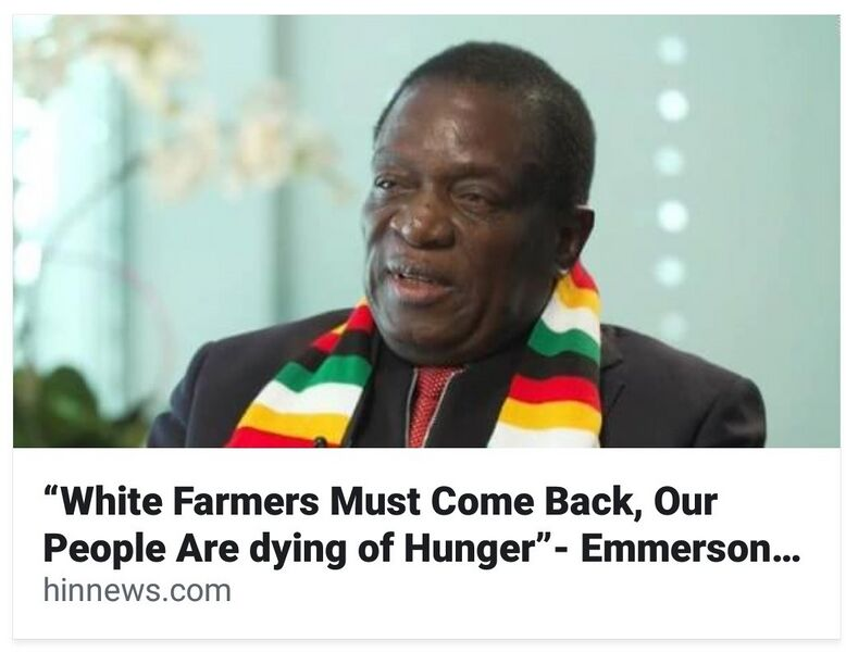 File:Emmerson Mnangagwa - White Farmers Must Come Back because Zimbabwes People are Starving.jpg