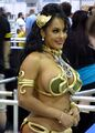 Nina Mercedez dressed with Princess Leias bikini.jpg