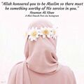 Nouman Ali Khan - Allah honoured you to be Muslim so there must be something worthy of His service in you.jpg