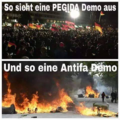 Pegida-Demo versus Antifa-Demo.png