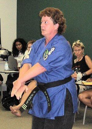 Silke Schulz - Taekwondo 2003.jpg