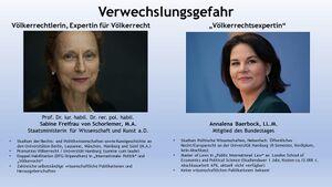 Verwechslungsgefahr - Voelkerrecht - Sabine Freifrau von Schorlemer und Annalena Baerbock.jpg